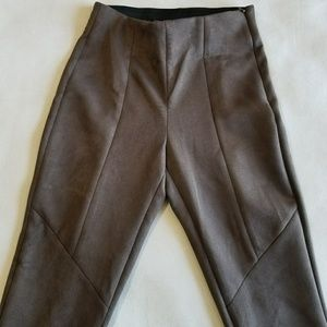 Zara Basic Faux Suede Leggings